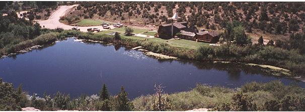 Lodge Pond Utah Trophy Trout Lake Fly Fishing Stillwater