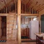 Bungalow Cabin Kitchen View