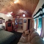 Hideaway Cabin Inside View