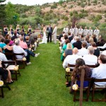 Utah wedding ceremony