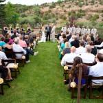 Utah wedding ceremony