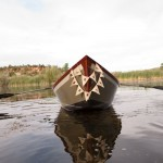 Wedding drift boat